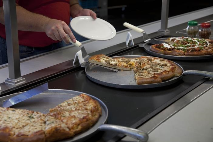 Cast Aluminium Pizza Presentation Pans