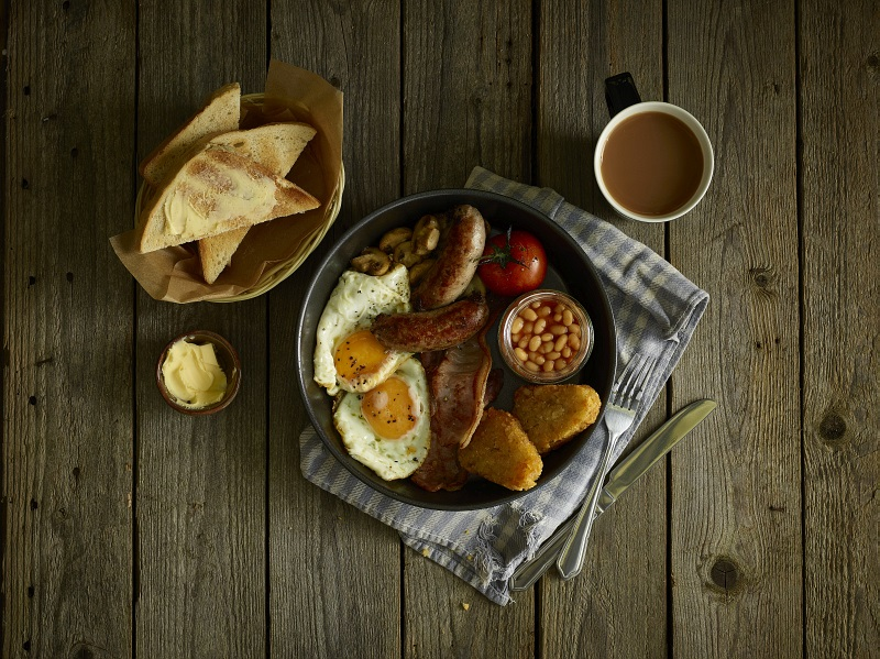 Rustic Casual Breakfast With Wicker