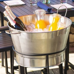 Stainless Steel Single Wall Beverage Tubs
