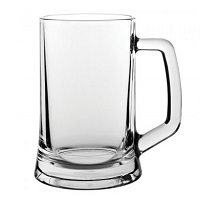 Utopia Glass Tankards
