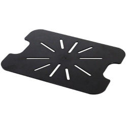 Black Polycarbonate Gastronorm Drain Shelf