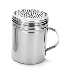10 oz Dredge, Stainless Steel with Handle