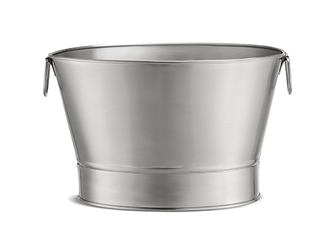 11 Gal Stainless Steel Beverage Tub, 20 x 12.25""