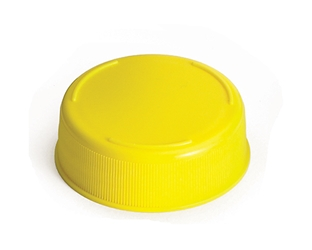 12 & 16 oz Inveratop(TM) 53 mm End Cap, Yellow