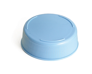 12 & 16 oz InvertaTop(TM) 53 mm End Cap, Light Blue