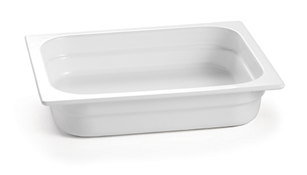 "12.75""x10.375""x2.5""halfx2.5"" W Cast Aluminum Steam Pan"