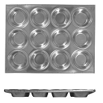 12 Cup Muffin Pan, 104ml / 3.5 oz Each Cup