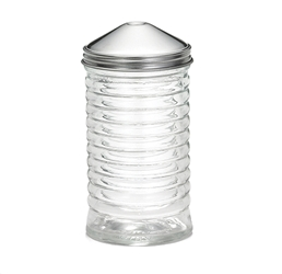 12 oz Beehive Pourer, Center Pour, Stainless Steel Top