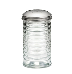 12 oz Beehive Shaker, Stainless Steel Top