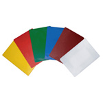 "6 Color Set Cutting Board, HDPE, 18"" X 12"" X 1/2"" (457mm x 305mm x 13mm)"