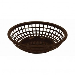 203mm / 8 Round Basket, Brown