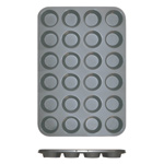24 Cup Muffin Pan - Non Stick (0.4mm), 104ml / 3.5 oz Each Cup