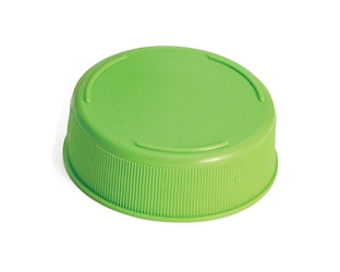 24 oz InvertaTop (TM) 63 mm End Cap, Light Green