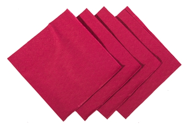 24 x 24cm Bordeaux Cocktail Napkin (2000 Pack)