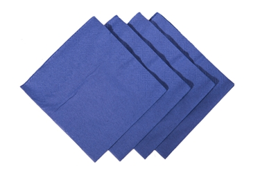 24 x 24cm Dark Blue Cocktail Napkin (2000 Pack)
