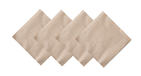 24 x 24cm Kraft Cocktail Napkin (2000 Pack)