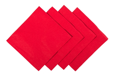 24 x 24cm Red Cocktail Napkin (2000 Pack)