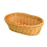 279mm x 178mm x 89mm / 11? x 7?x 3 1/2? Hand-Woven Basket, Oval, Plastic