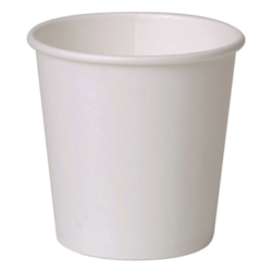 Single Wall White Cup 110ml/4oz (x1000)