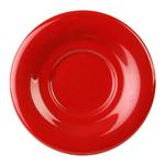 5 1/2 / 140mm Saucer For CR313/CR5044/ML901/ML9011, Pure Red