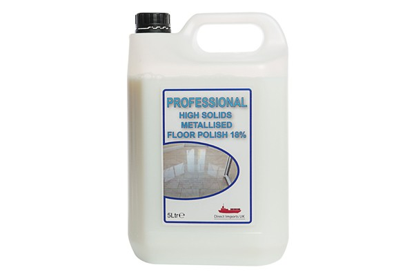 Professional High Solids Metallised Floor Polish (18%) 5L