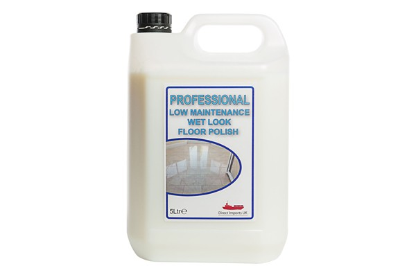 Professional Wet Look Floor Polish (25%) 5L