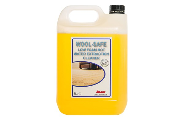 Wool Safe Low Foam hot water extractor cleaner 5L