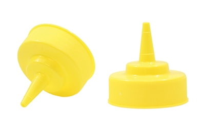 53 mm Standard Yellow Cone Tiptop (Replacement Part)