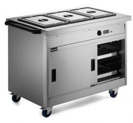 800 Series Pass Through Hot Cupboard - Bain Marie Top