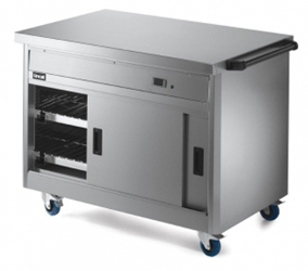 800 Series Pass Through Hot Cupboard - Plain Top