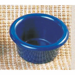 89ml / 3 oz, 79mm / 3 1/8?  Contemporary Ramekin, Cobalt Blue