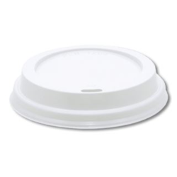 4oz PS lids, white (x500)