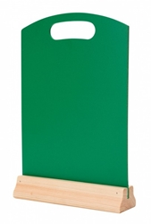 A4 Hand Held Menu Board - GREEN (Each) A4, Hand, Held, Menu, Board, GREEN, Beaumont