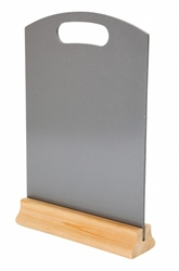 A4 Hand Held Menu Board - GREY (Each) A4, Hand, Held, Menu, Board, GREY, Beaumont