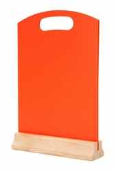 A4 Hand Held Menu Board - ORANGE (Each) A4, Hand, Held, Menu, Board, ORANGE, Beaumont