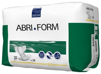 Abri- Form Comfort - Textile Feel Back Sheet S2 - TBS (28 Pack) Abena, Abri, Form, Comfort, , Textile, Feel, Back, Sheet, S2, , TBS