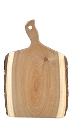 Acacia Display Bread Boards, 14 x 7 x 0.75""