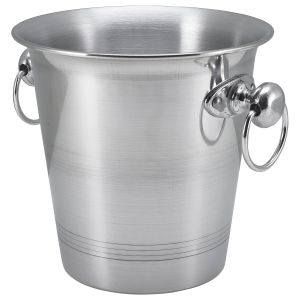 Aluminium Wine Bucket With Ring Hdls 3.25Ltr (Each) Aluminium, Wine, Bucket, With, Ring, Hdls, 3.25Ltr, Nevilles