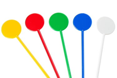 "Assorted Coloured Cocktail Stirrers 6"" (Pack of 250)"