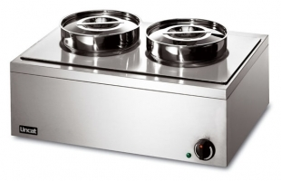 Bain Marie Double round pot (wet or dry)