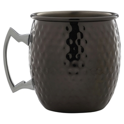 Barrel Gun Metal Mug 55cl/19.25oz Hammered (Each) Barrel, Gun, Metal, Mug, 55cl/19.25oz, Hammered, Nevilles