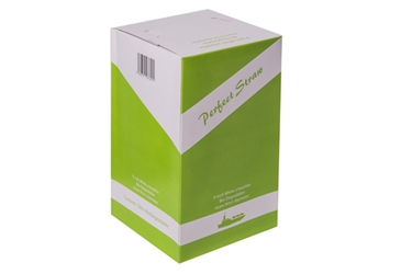 "Biodegradable White Smoothie Straws 9mm / 9"" (200 Pack) White, Smoothie, Biodegradable, Straw, 9"", 9 Inches, 9mm, bore"