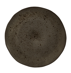 Black Ironstone Plate 31.5cm (Pack of 4)