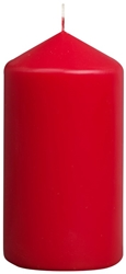 Bolsius® Professional Pillar Candle 150mm x 80mm Red (6 Pack) Bolsius, Professional, Pillar, 150mm, 80mm, Red, bolsius