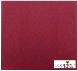 Burgundy 2 Ply 40cm Napkins (2000 Pack)