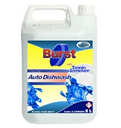 Burst Auto Dishwash Liquid with Tannin Remover (5 Ltr)