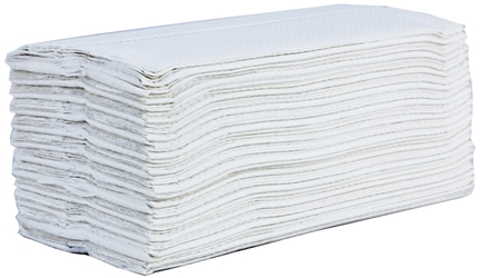 Z Fold Hand Towels 2 ply White (3000 Pack) zFold, Z Fold, Hand, Towels
