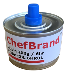 ChefBrand Chafing Fuel -  6 Hour Wick Chafing Fuel (24 Pack)