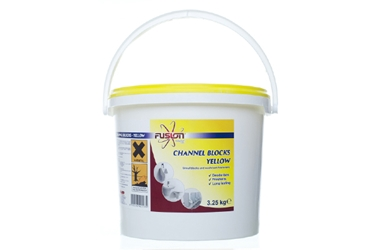 Channel Blocks Yellow - LEMON 3.25Kg Tub