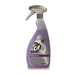 Cif Professional 2 in1 Cleaner and Disinfectant 6x750ml (Pack)